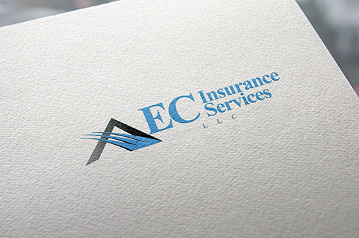 EC Insurance Services LLC Logo printed on a paper